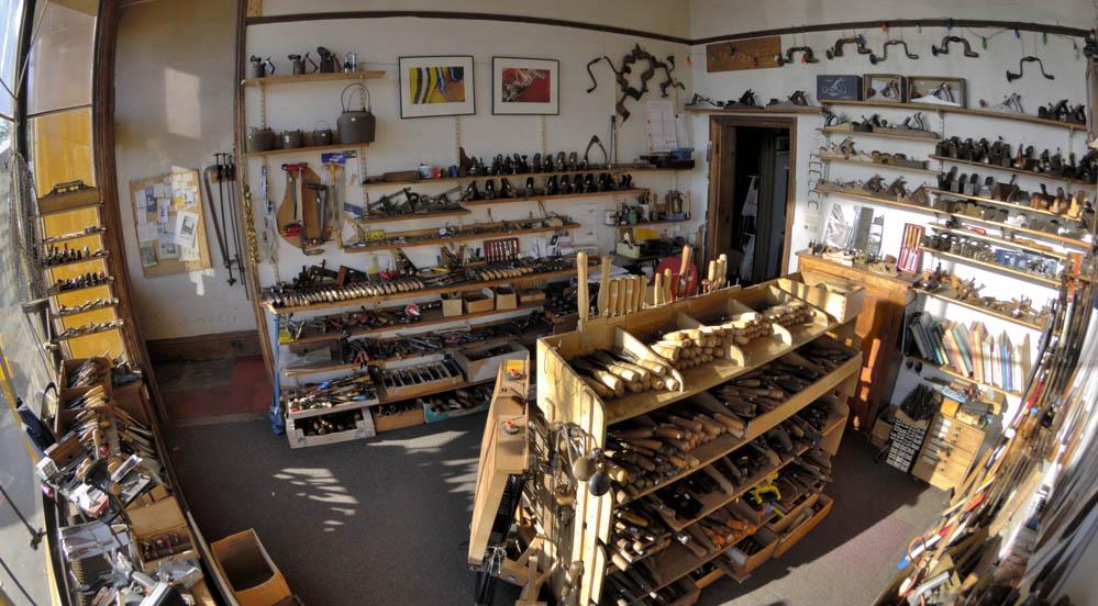 wide angle of Bristol Design shop interior