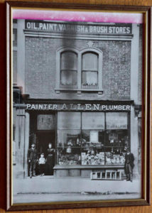 Shop from about 1900